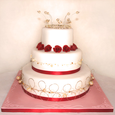 Beaded And Gem Wedding Cakes Newbury Cake Lace Weddings