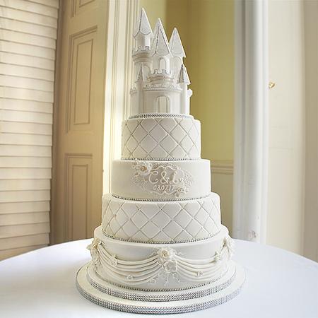 Castle Wedding Cake.Fairy Themed Castle Wedding Cake Cake Maker Newbury