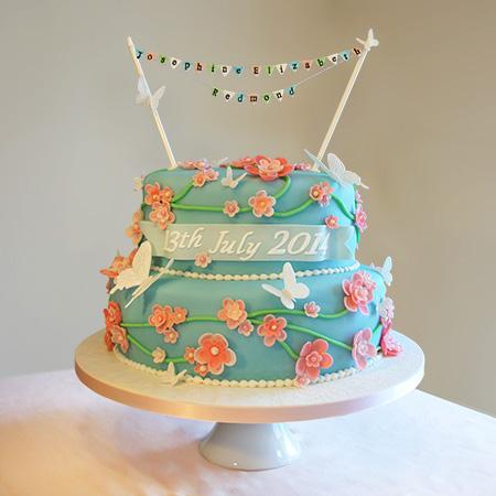 Celebration Birthday Christening Baby Cakes