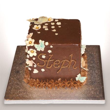 Square Cakes Design Birthday And Christening